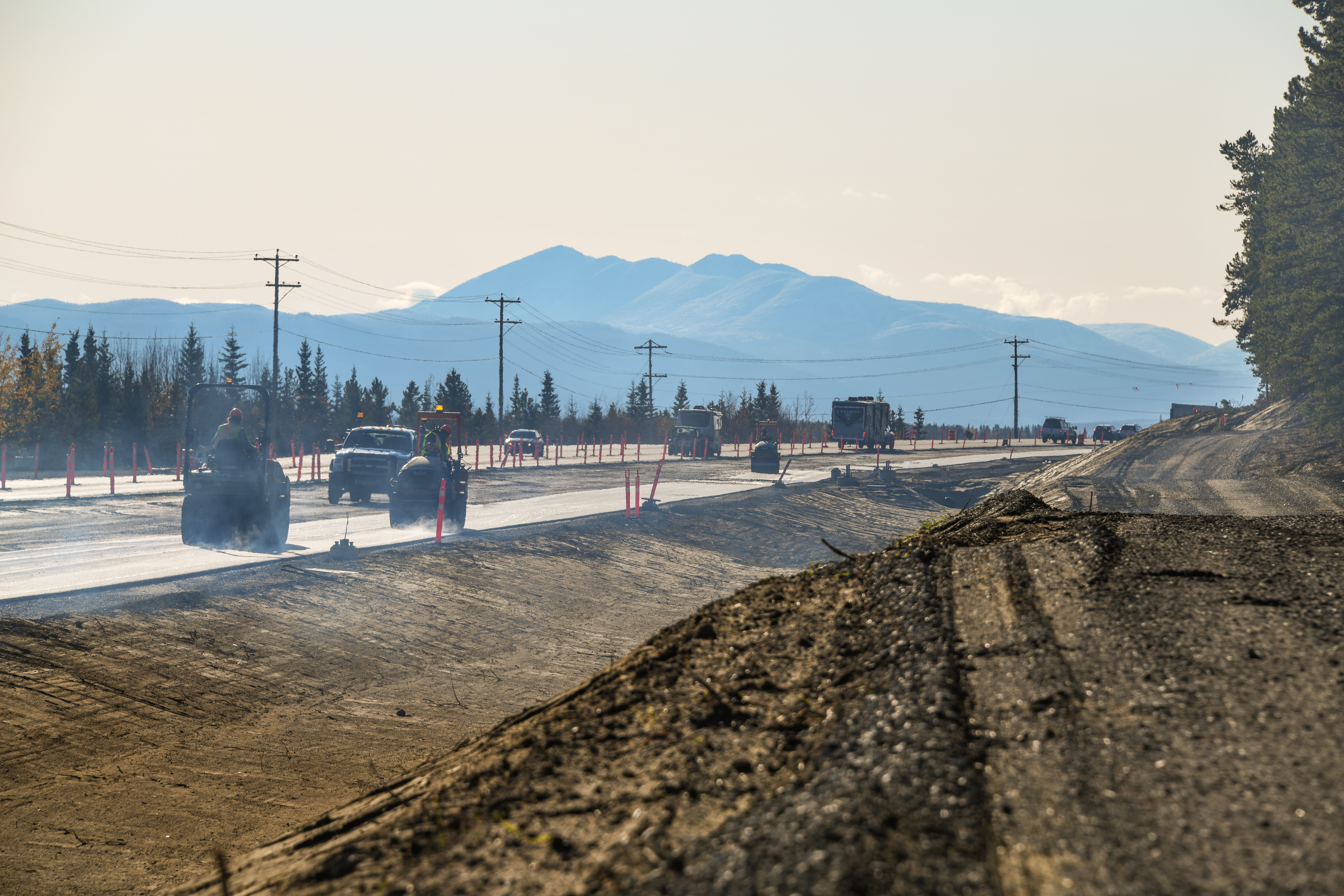 Range Rd/Alaska Hwy Intersection and Frontage Road Upgrades